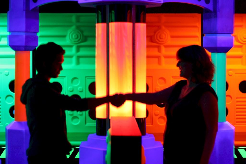 GlowGolf® - Binnen kijken